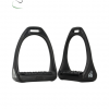HyJUMP Compositi Stirrups with a wide swivel sole and shock absorbtion underneath.