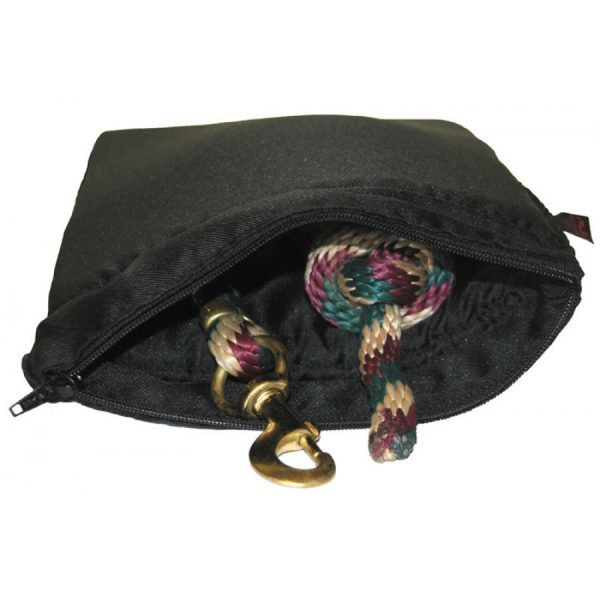 padded wash bag for washing lead ropes, head colar and other things in the washing machine