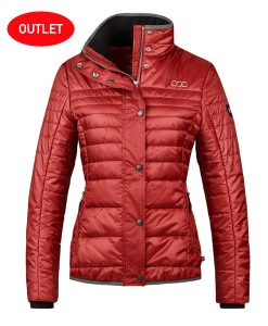 cavallo halley garnet red jacket